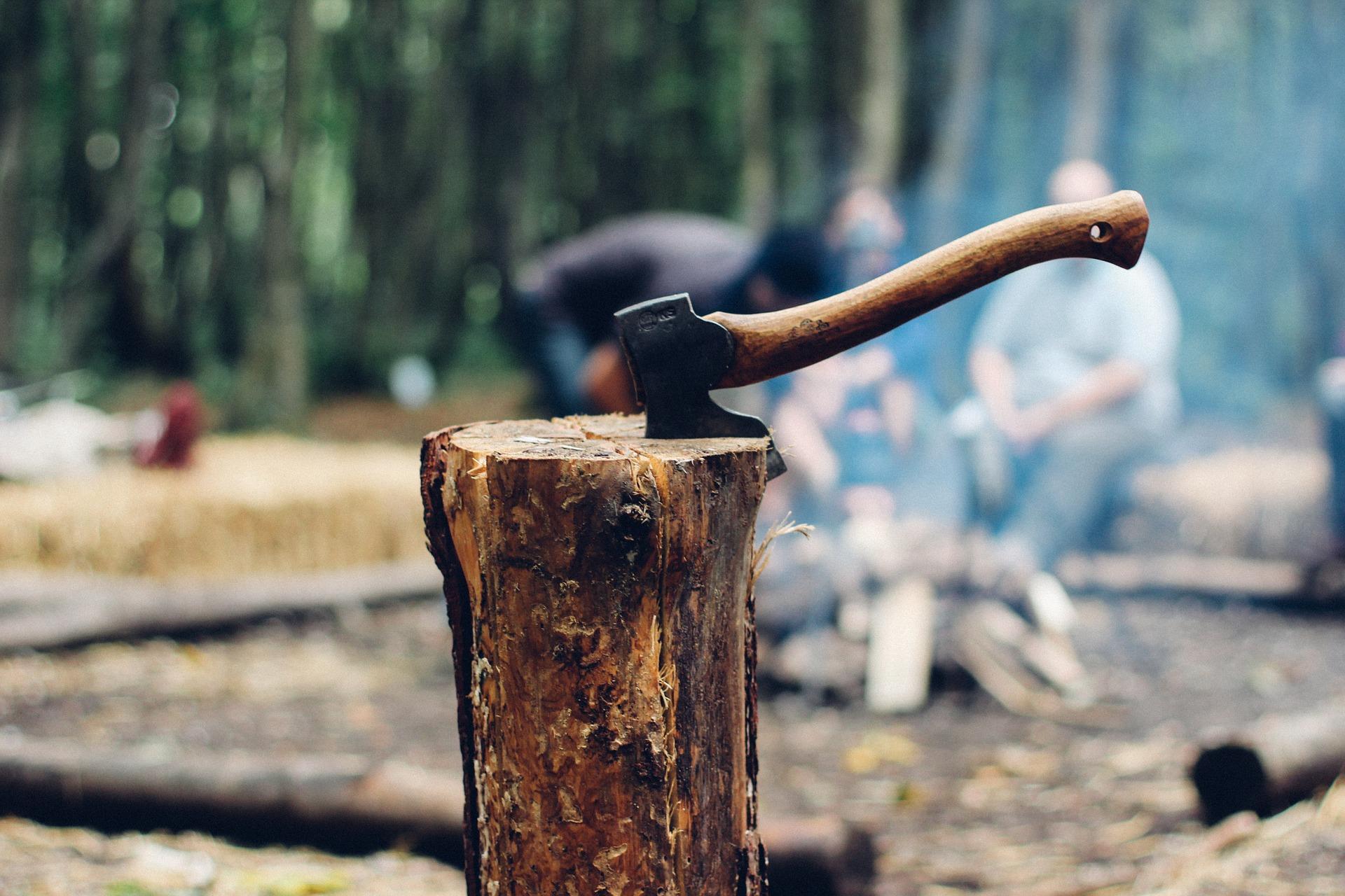להשחיז את הגרזן